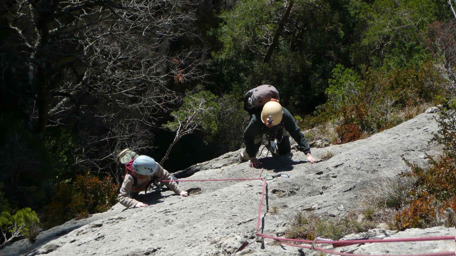 Escalade dans les Gorges de la Jonte et Gorges du Tarn