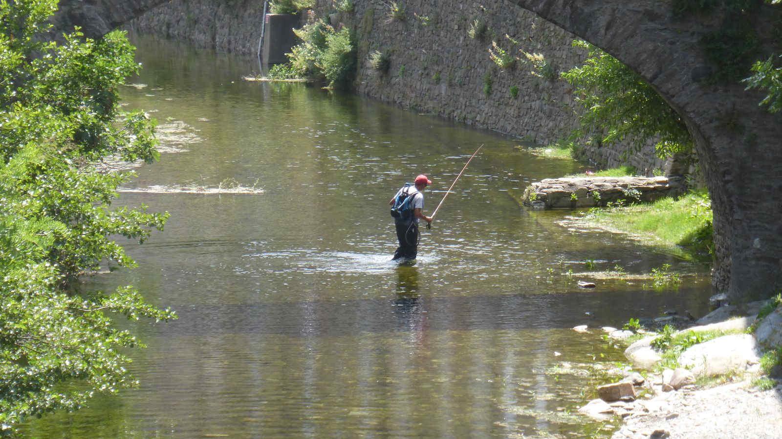 Pêche à la truite en Lozère