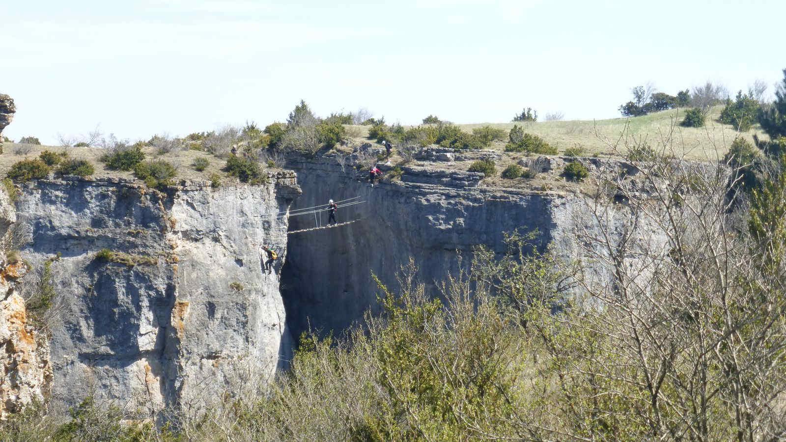 Via Ferrata dans les Gorges du Tarn